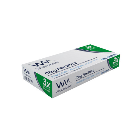 Clingfilm Refill 45cm X 300m  (Pack Of Three)