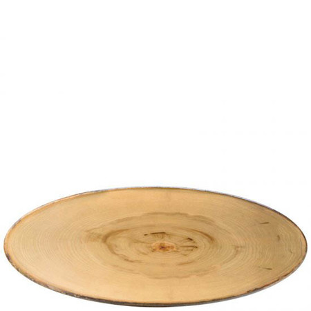 Elm Footed Oval Platter 65cm X 26cm (Box Of 2)