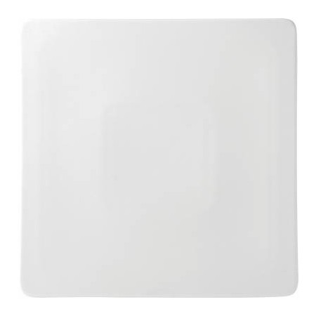 Anton Black Fine China Square Plateau 26cm (Box of 6)