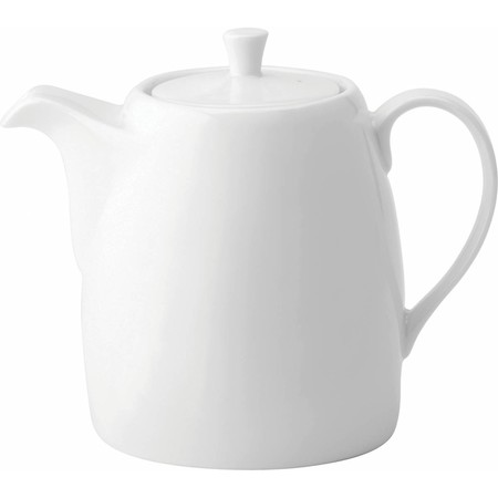Anton Black Fine China Tea Pot 40cl (Box of 6)