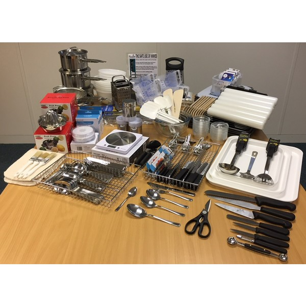 Cookit Set Of Equipment Inclusive Of Delivery