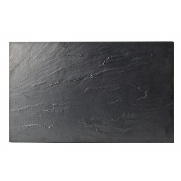 Reversible Melamine Platter Slate/Granite Effect 53cm X 32cm (Box Of 2)