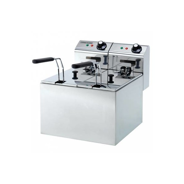Hallco Fryer Double 2 x 3 Ltr