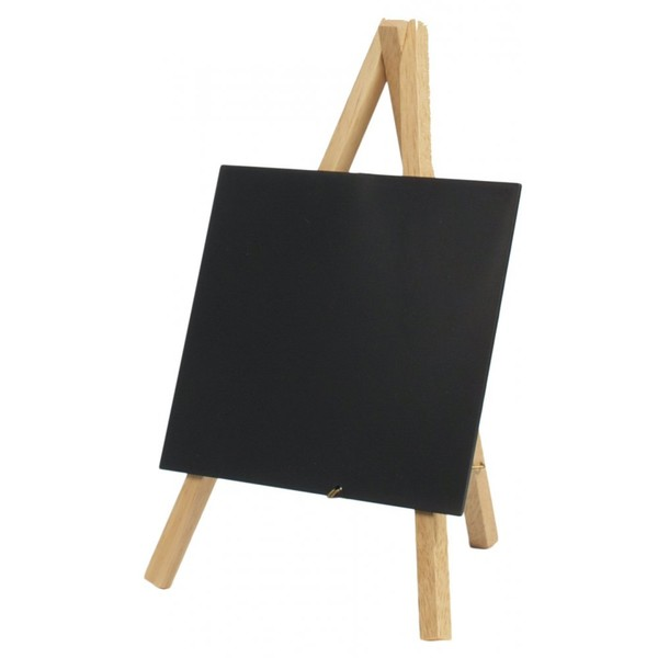 Mini Chalkboard Easel Wood 24cm X 11.5cm (Pack Of 3)