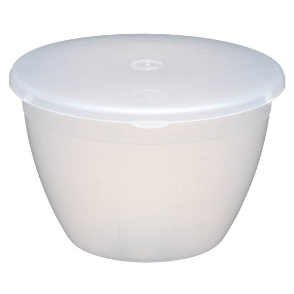 Basin Plastic With Lid 0.25 Pint