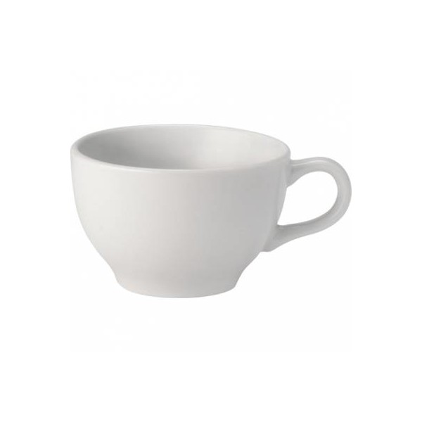 Pure White Porcelain Cappuccino Cup 23cl (Box of 24)