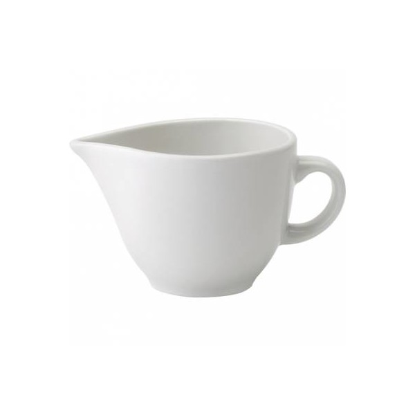 Pure White Porcelain Cream Jug 26cl (Box of 36)
