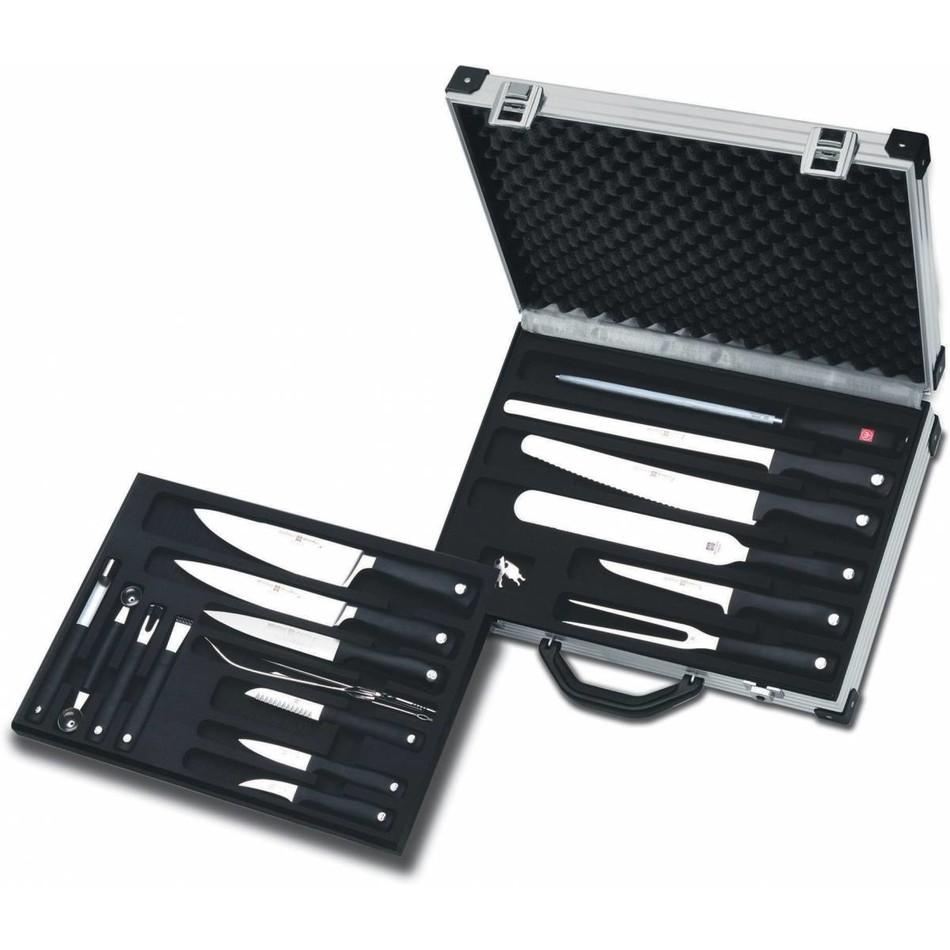 Wusthof Grand Prix II & Silverpoint Knife Case Set