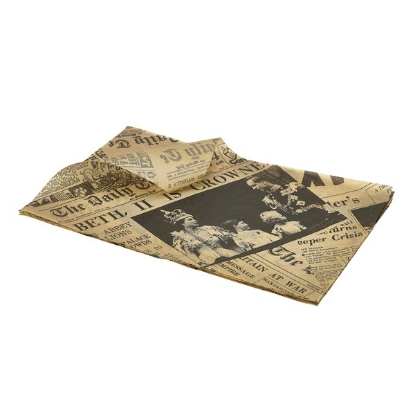 Brown Greaseproof Paper Sheets 25 cm x 35 cm