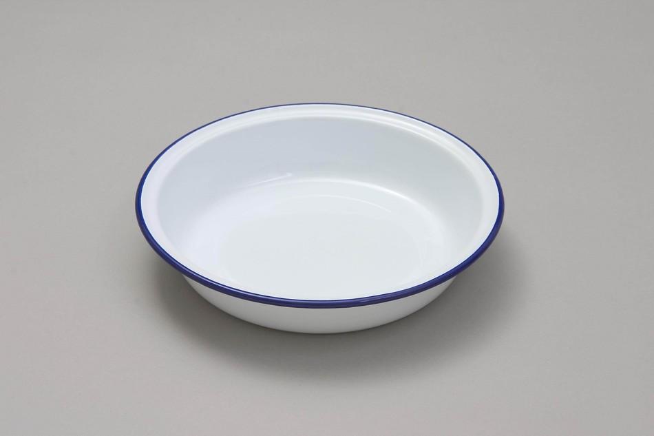 & Falcon Enamel Round Pie Dish 22cm