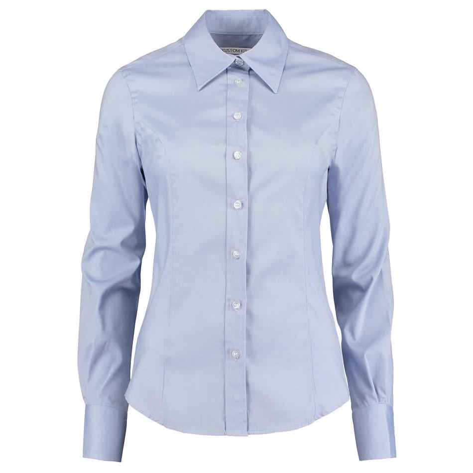 Womens White Long Sleeve Oxford Shirt Bcd Tofu House